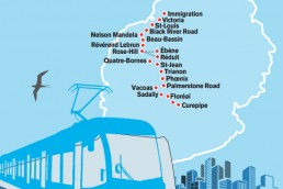 Route Map Mauritius Metro Express