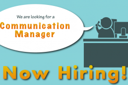 Vacancy Communications Manager Mauritius
