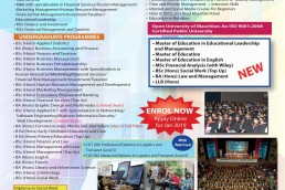 Open University of mauritius application form